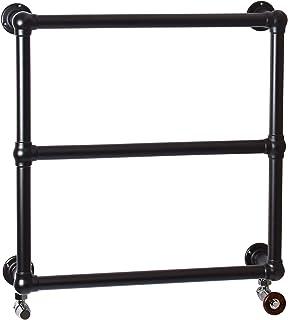 ENKI radiador toallero para baño 660 660mm clásico pared negro BALLERINA
