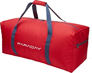 30 inch Folding Travel Duffel Bag 75L Lightweight for Luggage Camping Sport V2.0 (Red)