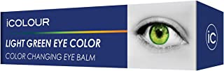 iCOLOUR Color Changing Eye Balm - Change Your Eye Color Naturally - 1 Month Supply - 4.3 g (Light Green)