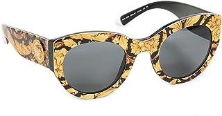 فيرساتشي نظارة شمسية للنساء ,دائري ,رمادي ,VE4353 528387 51