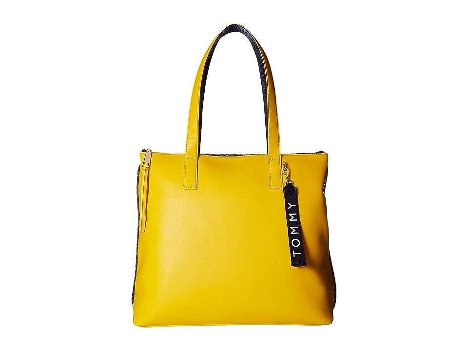 Tommy Hilfiger Devon Tote (Citrus) Tote Handbags