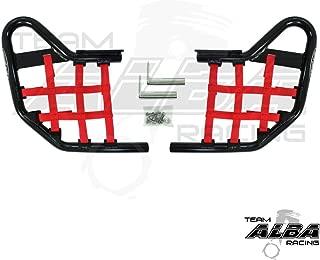 Yamaha YFZ 450 (2004-2009) (2012-2013) Standard Nerf Bars Black w/Red Net