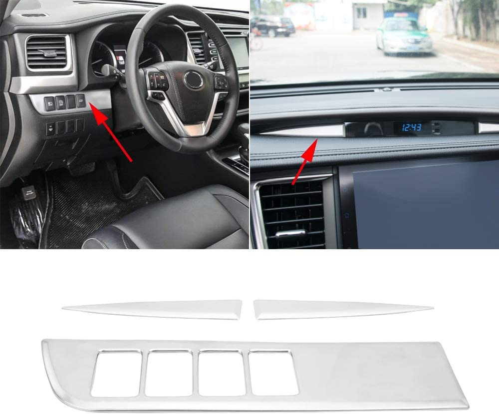 Senzeal ABS Car Interior Sale price Central Console Cover Fr Trim Dashboard Seattle Mall
