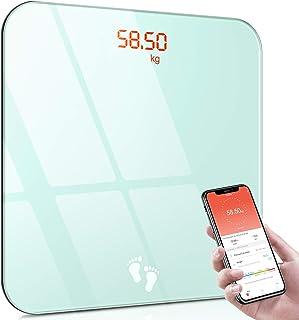 Cocoda Bilancia Pesapersone, Bilancia Pesapersone Digitale Bluetooth Intelligente con App per Smartphone e Display a LED C...