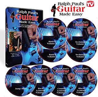 Ralph Paul's Guitar Made Easy - In Just 5 Minutes a Day, I'll Have You Playing Like a Pro!