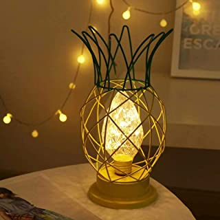 Craft Room Decorations With New Design, Pineapple Shape Craft Romantic Gift Bedroom Decorative Indoor Home Iron - Valentine Lighted Decorations, Bedroom Candles, Cool Bedroom Decorations