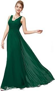 Ever-Pretty Sleeveless V-Neck Semi-Formal Maxi Evening Dress 09016 85c6e75ab72c