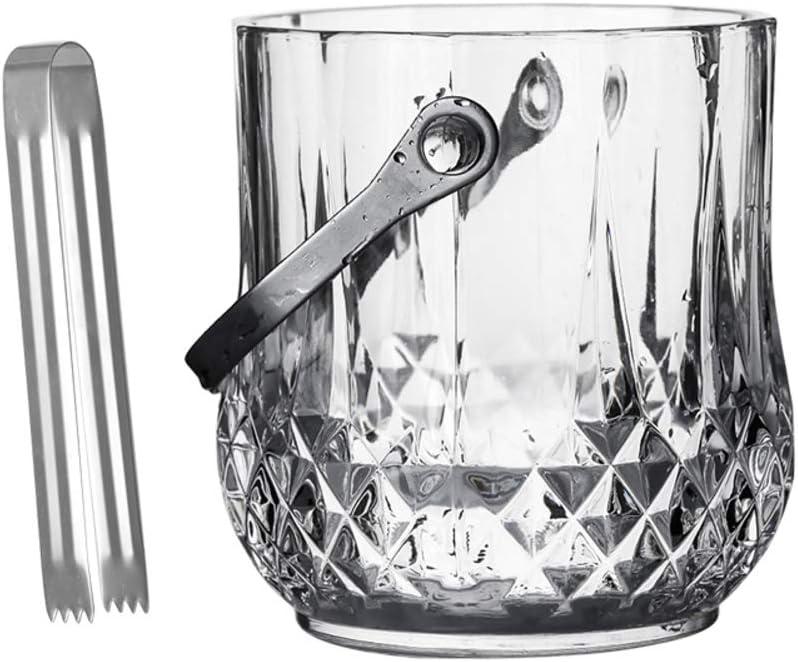 WYMESW Genuine Glass Ice Bucket Ranking TOP8 Champagne Wine Insula Cooler