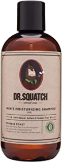 Dr. Squatch Natural Men's Shampoo – Eliminate Dandruff, Dry Scalp, and Prevent Hair Loss with this Moisturizing Organic Te...