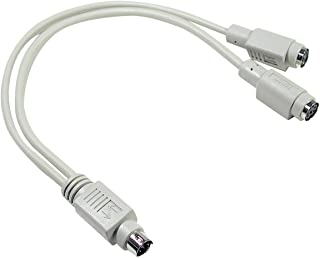 2 for 1-Y Mouse- YKey-Key -PS-2 Port