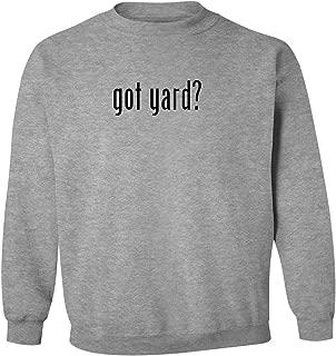 got yard? - Men's Pullover Crewneck Sweatshirt, Heather, Small