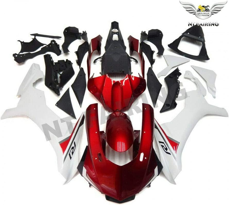 NT FAIRING Red White Fairing Fit YZF YAMAHA for R1 2021 Deluxe autumn and winter new New 2015-2019