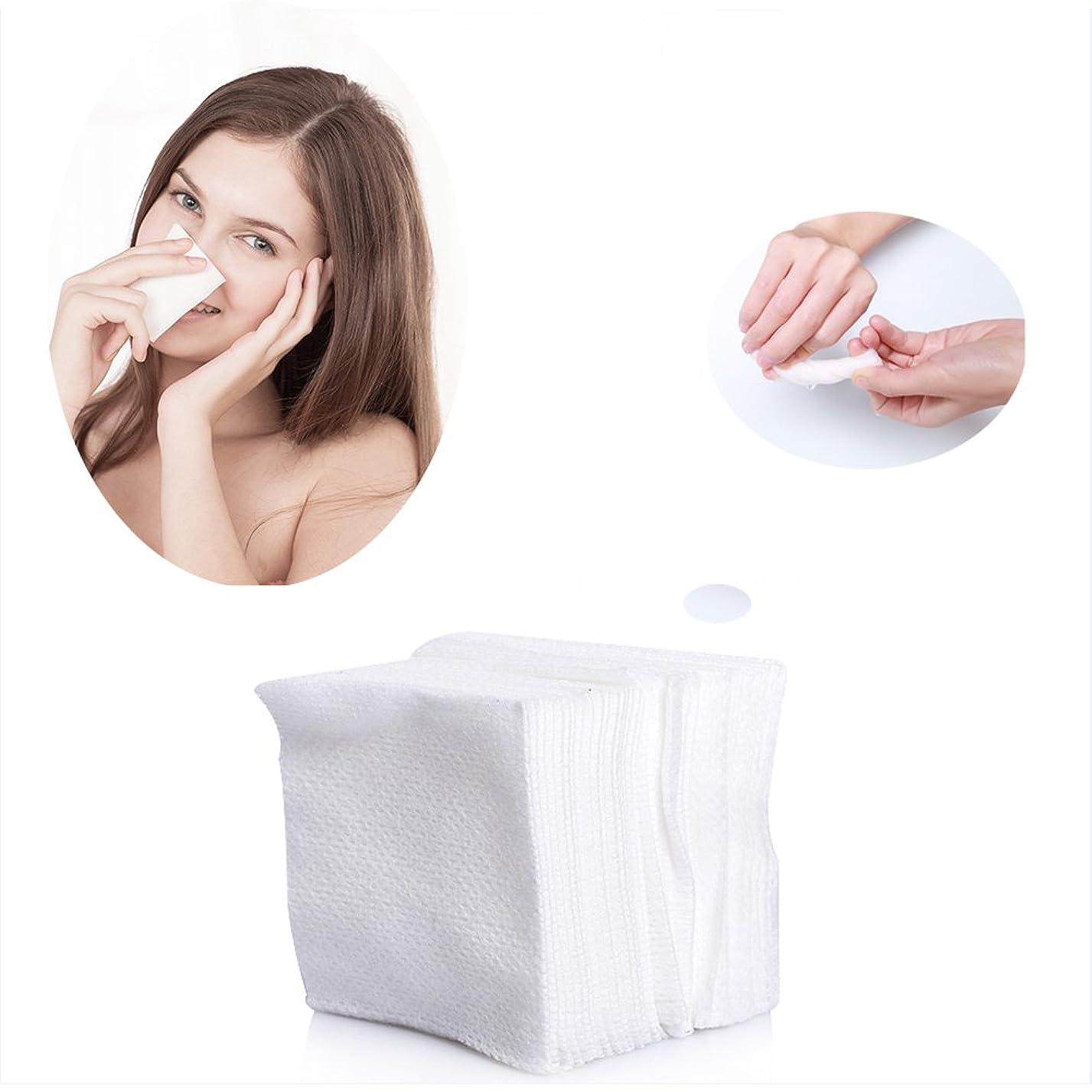 永遠の悪質な始まりコットンパフ 化粧用コットン 敏感肌 顔拭きシート メイクアップ コットン 100枚入