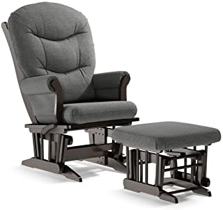 Dutailier Adele 2533 Glider Multiposition-Lock Recline with Ottoman