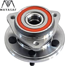 MAYASAF 513084 New Front Wheel Bearing Hub Assembly 5 Lugs Replacement for Jeep Cherokee Comanche Grand Cherokee TJ Wrangler