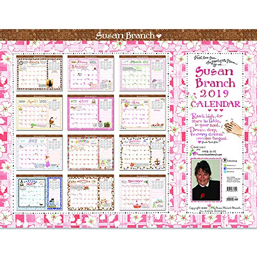 5 best susan branch desk pad calendar 2019 for 2020