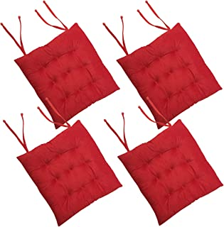 Best bright red chair cushions Reviews