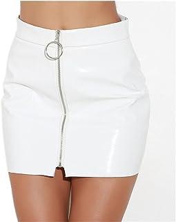 ddfdfa88d Amazon.es: minifaldas de cuero - Faldas / Mujer: Ropa