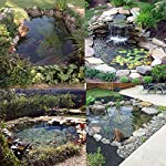 king do way Pond Liner for Garden Landscaping Pools Fountain PVC Membrane Reinforced Puncture Resistance