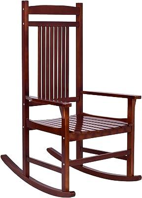 Remarkable Amazon Com Bz Kd 22W Wooden Rocking Chair Porch Rocker Unemploymentrelief Wooden Chair Designs For Living Room Unemploymentrelieforg