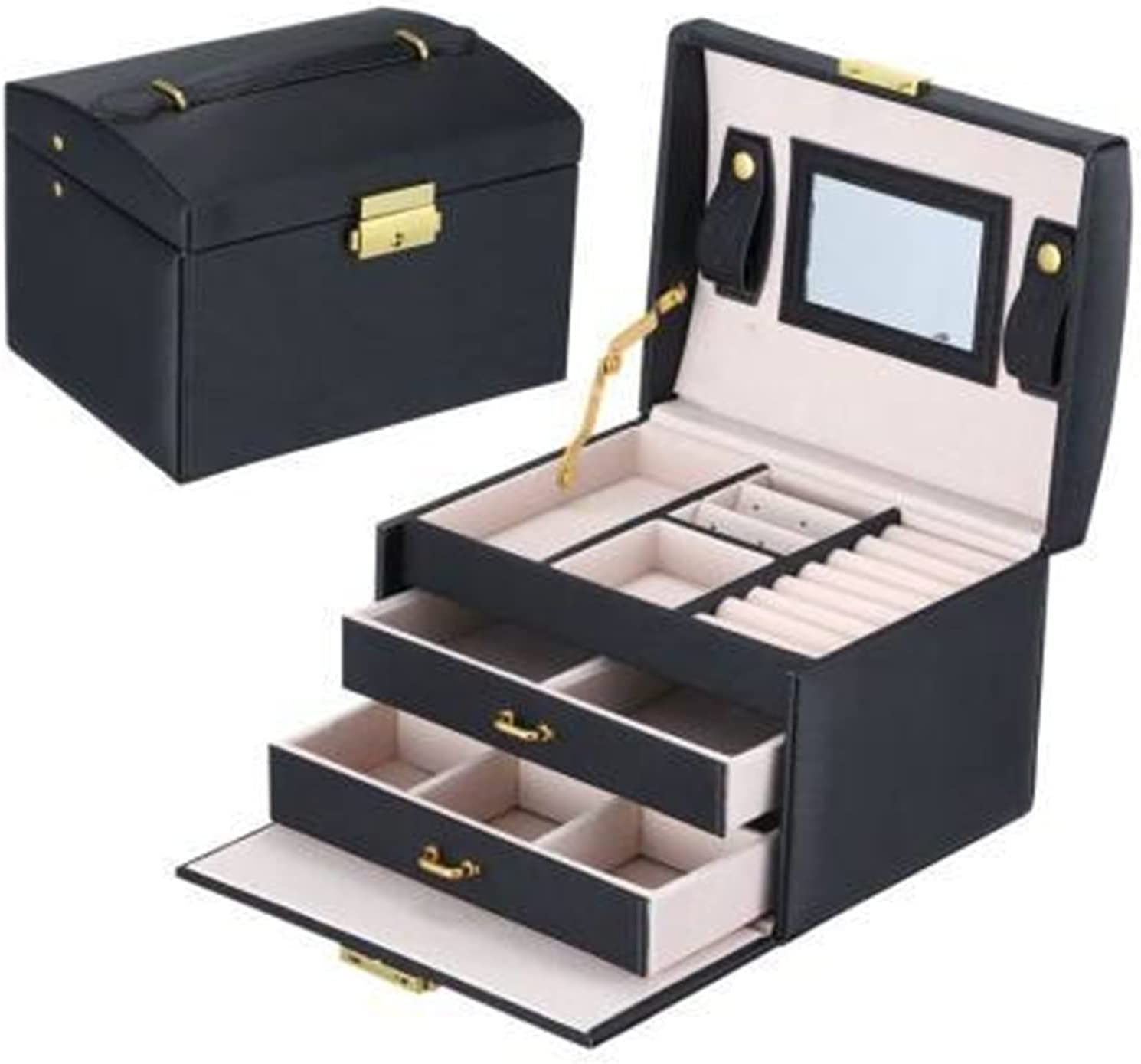 Raleigh Mall Jewelry Organizer Large Box High Casket Outstanding Capacity