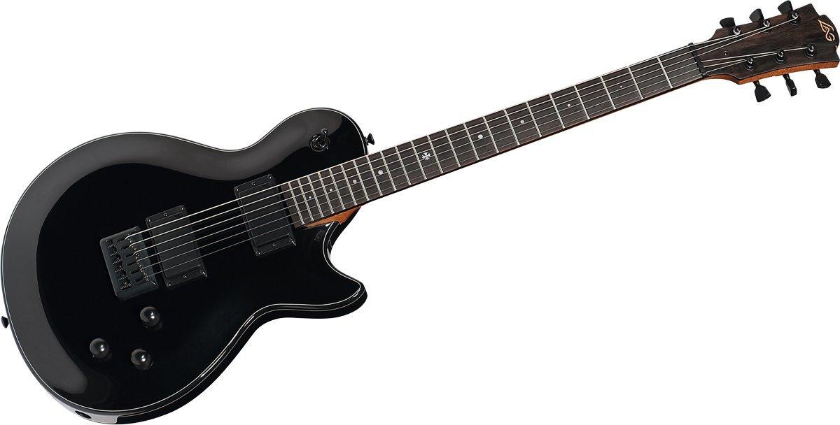 Guitarra electrica lag imperator 100 negra: Amazon.es ...