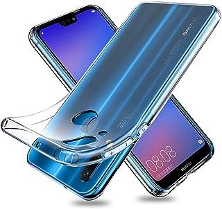 Youriad Huawei P20 lite ケース カバー   透明 クリア ソフト カバー  特徴 軽量 インチ 薄型 ストラップ 滑り止め ワイヤレス充電対応 落下防止 TPU(Huawei P20 lite カバー 専用)
