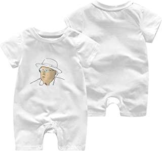 Van Morrison Infant Boy Girl Short Sleeve Jumpsuit Summer Outfits