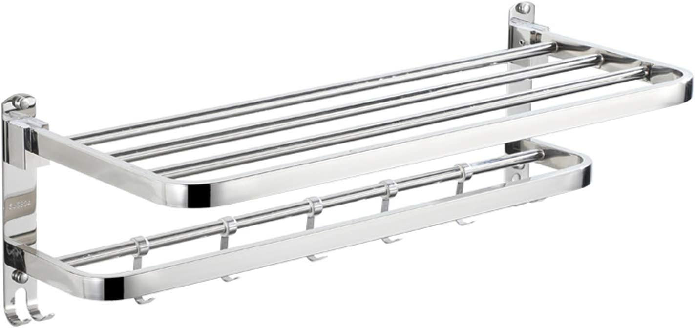 OUTHOME Double Towel We OFFer Directly managed store at cheap prices Rack Drilled 24Inches Thick Non-Drilled