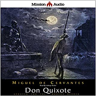 Don Quixote (Adapted for Modern Listeners) audiobook cover art