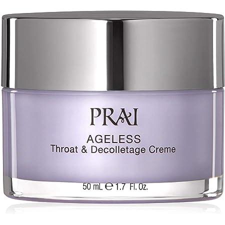 PRAI Beauty Ageless Throat & Decolletage Creme - Anti-Aging & Anti-Wrinkle Firming Neck Moisturizing Cream - 1.7oz