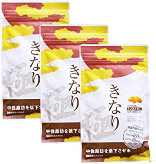 【機能性表示食品】 さくらの森 きなり極 中性脂肪を低下させるサプリメント 120粒×3袋 約3か月分 国産DHA・EPAサプリメント ナットウキナーゼ オメガ3脂肪酸 クリルオイル アスタキチンサン