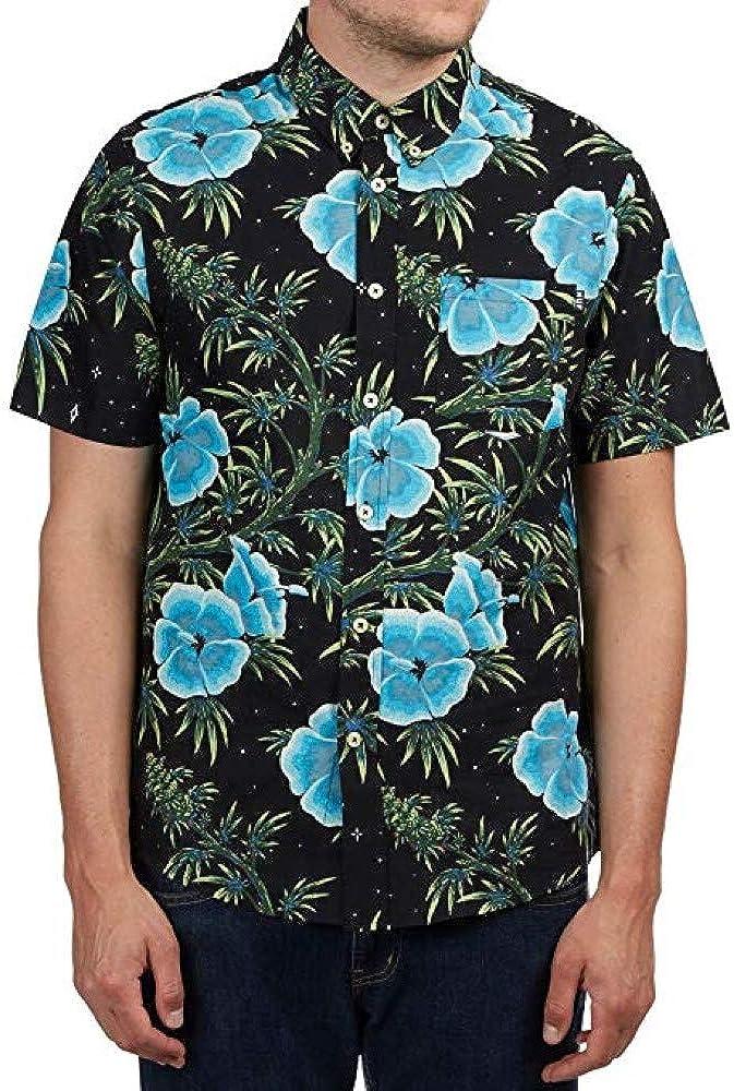 HUF Mens Herrer Button-Up Shirt BU00027