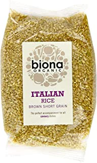 Biona Organic Short Grain Italian Brown Rice, 500g