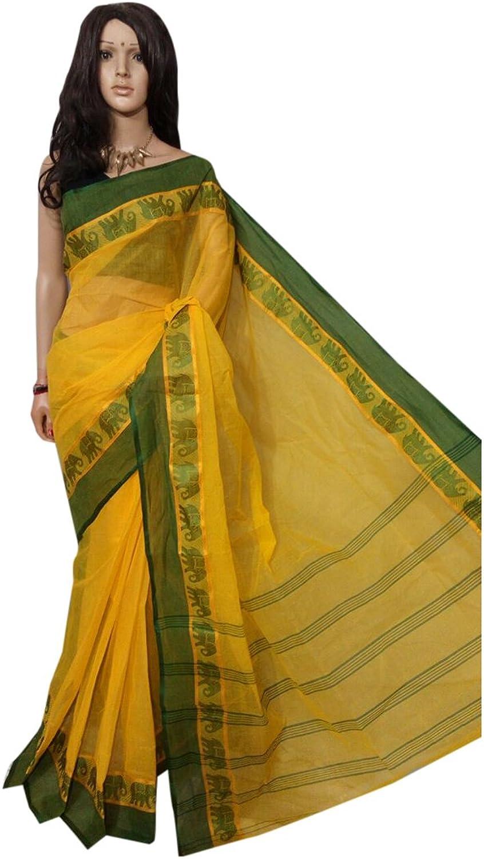 Traditional handloom elephnat motive Saree Full weaving work by weavers Bengal Women sari Indian Ethnic Festive saree 102 8