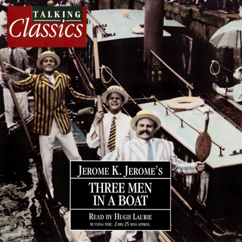 Three Men In A Boat audiobook cover art