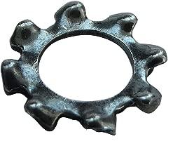 AERZETIX 100x Arandelas estriadas dientes freno de resorte M5 /Ô8.5mm H1.1mm acero de muelles C17690