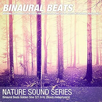 Binaural Beats Golden Sine 321.9 Hz (Blood-metaphysics)