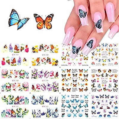 Comdoit Butterfly Nail Art