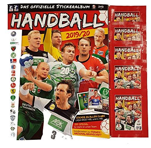 Victus Blue Ocean Handball Sticker Saison 2019/20 Stickeralbum + 5 Stickertüten