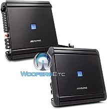 pkg Alpine MRV-M500 Monoblock 500W RMS + MRV-F300 4-Channel 300W RMS Amplifiers