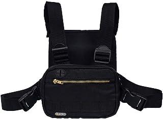 حقيبة صدر رياضية في الهواء الطلق، حقيبة صدر تكتيكية، معدات الرجال والنساء. أوقات الفراغ والجري والتنزه سيراً على الأقدام