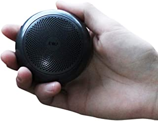 A110 TWS Mini Bluetooth Speakers,Metal Portable Speaker with Hard Travel Case Packed, TWS funtion can Pair Two Speakers to Enjoy Stereo Sound and Enhanced Bass (Black)