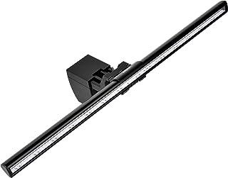 Wodgreat モニター掛けライト モニターライトバー pcモニターledライト スクリーンバー USB ライト 3種類色温度 10段階輝度調整可能 反射光制御 角度調節可能 読書 仕事 ゲーム 寝室 卓上に対応