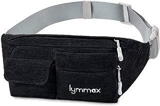 Fanny Pack Waist Bag 4 Pockets Running Belt Adjustable Water Resistant Waist Pack for Men Women Workout Travel Large Capacity