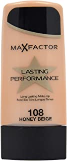 Max Factor Lasting Performance, Liquid Foundation, 108 Honey Beige, 35 ml