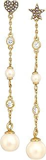 Kate Spade New York Womens Grandmas Closet Linear Earrings