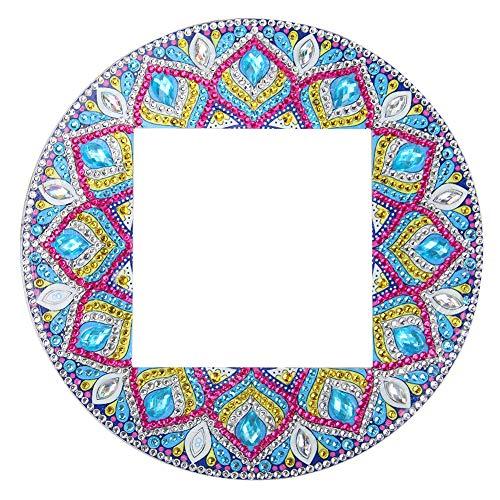 Everpert Nette DIY 5D Diamant Malerei Lichtschalter Aufkleber Lichtschalter Surround Abdeckung Aufkleber Wandtattoos für Kinder Mädchen Schlafzimmer Dekoration (2#)