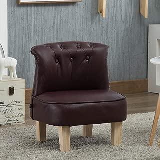 HFYAK Children s Mini Sofa Seat Children s Fur Art Children s Mini Sofa Children  nbsp Mini Constant  modola Children s Furniture Living Room Bedroom-Red Wine 45x55cm  18x22inch