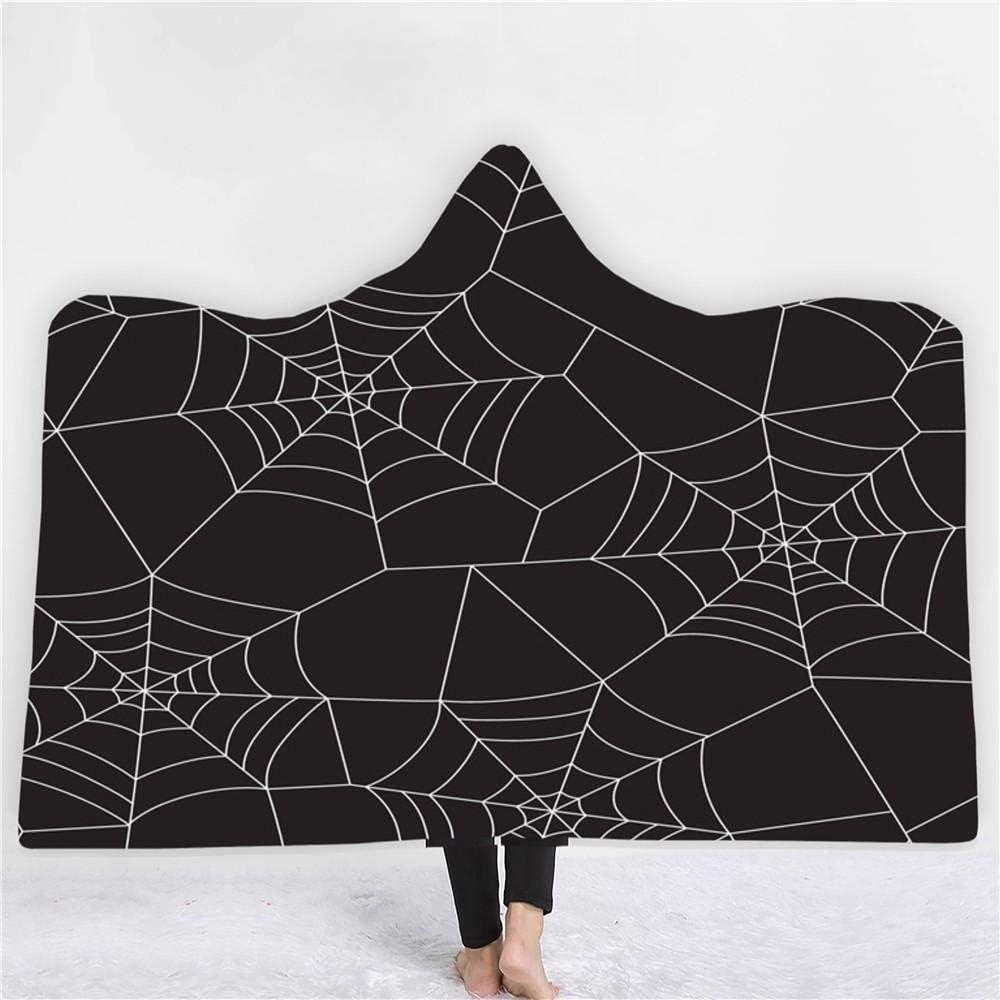 Outlet SALE Hooded Blanket Skull Web H Luxury Spider